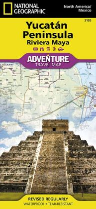 Northern Yucatan/Maya Sites Map