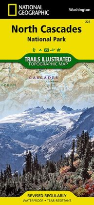 North Cascades National Park, Washington Map