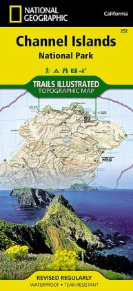 Channel Islands National Park, California Map