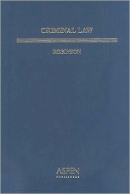 Criminal Law (Aspen Student Treatise series)