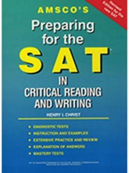 Preparing for the SAT in Critical Reading and Writing