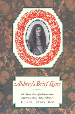 Aubrey's Brief Lives