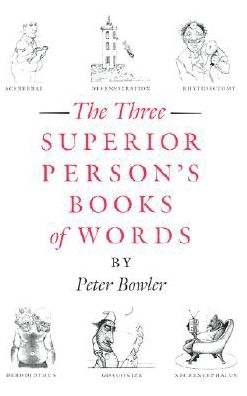 The Superior Person's Books of Words / Boxed Set