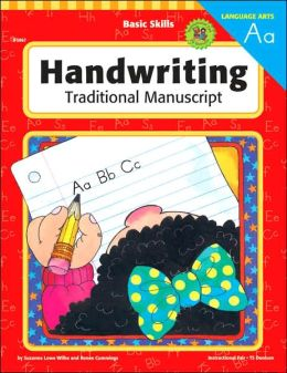 Handwriting: Traditional Manuscript