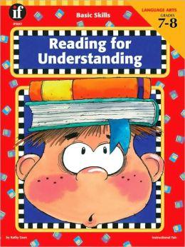 Reading for Understanding, Grade 7-8
