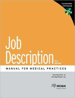 Job Description Manual for Medical Practices