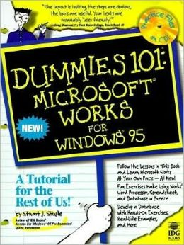 Dummies 101: Microsoft Works for Windows 95 (with Disk)