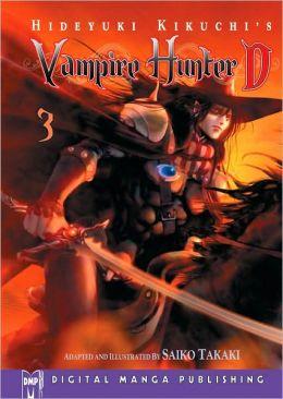 Hideyuki Kikuchi's Vampire Hunter D Manga Series, Volume 3
