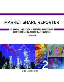 Market Share Reporter: 2 Volume Set