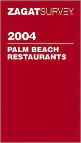 Zagat Palm Beach Pocket Guide 2004
