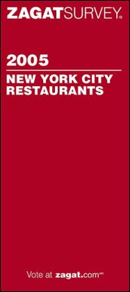 Zagat New York City Restaurants