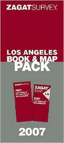 Zagat Survey: Los Angeles Book and Map Pack 2007