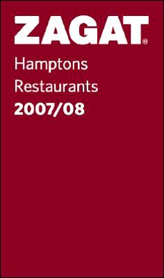 Zagat Hamptons Restaurants Pocket Guide 2007-2008