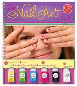Nail Art (Book and Nail Polish)