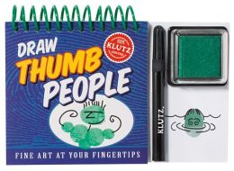 Draw Thumb People: Fine Art at Your Fingertips