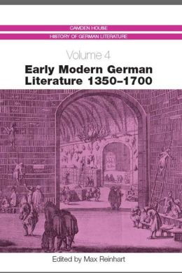 Early Modern German Literature 1350-1700