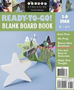 Ready to Go Blank Board Book Star