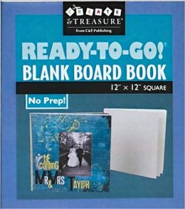Ready-to-Go Blank Board Book 12 x 12