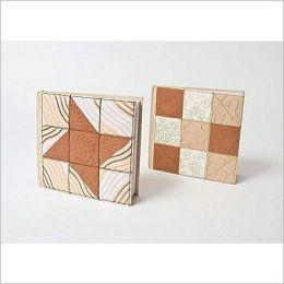 Quilt Journal Mocha Star 6 x 6