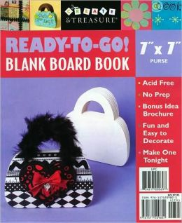Ready-to-Go! Blank Board Book (7 x 7 Purse)