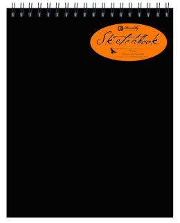 Black Sketchbook Top Spiral - Large