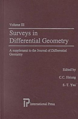 Surveys in Differential Geometry