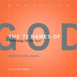 The 72 Names of God Meditation Book