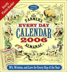 2006 Old Farmer's Almanac Box Calendar