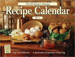 The Old Farmer's Almanac 2011 Recipe Calendar