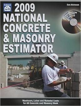 National Concrete & Masonry Estimator [With CDROM]