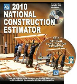 2010 National Construction Estimator
