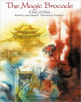 The Magic Brocade: A Tale of China (English/Spanish Edition)