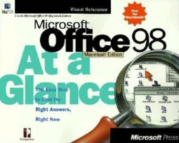 Microsoft Office 98 Macintosh Edition at a Glance