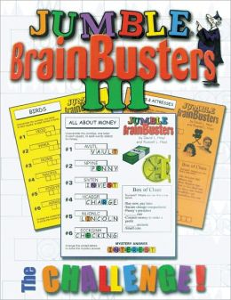Jumble Brainbusters III: The Challenge