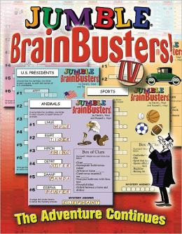 Jumble Brainbusters IV: The Adventure Continues