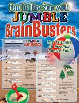 Fun in the Sun Brainbusters: The Ultimate in Sizzling Puzzle Fun!