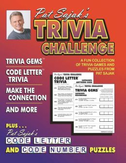 Pat Sajak's Trivia Challange: A All-New Wagering Triviagame from Pat Sajak and His Team of Experts at