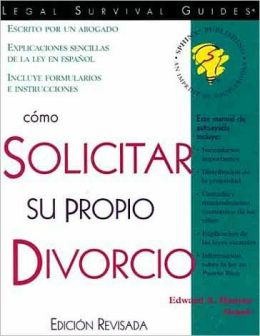 Como Solicitar Para Su Propio Divorcio