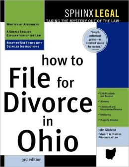How to File for Divorce in Ohio, 3E