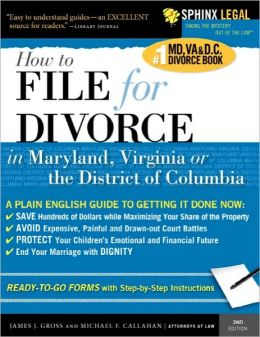 File For Divorce In Maryland, Virginia, Or The District Of Columbia