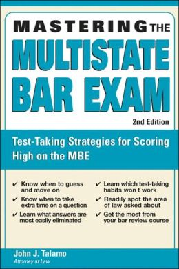 Mastering the Multistate Bar Exam, 2E