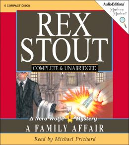 A Family Affair (Nero Wolfe Series)