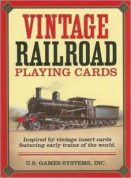 Vintage Railroad: Playing Cards