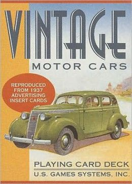 Vintage Motor Cars: Playing Card Deck