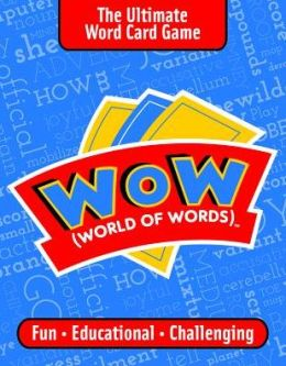 Wow World of Words Card Game