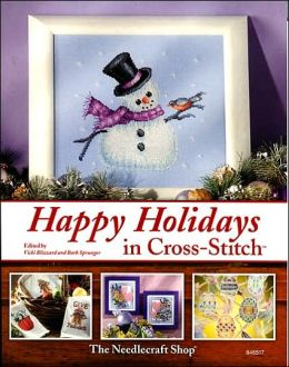 Happy Holidays in Cross Stitch