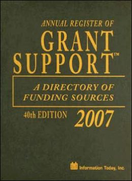 Annual Register of Grant Support 2007