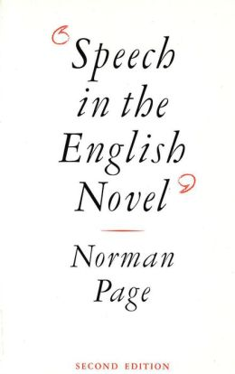 Speech in the English Novel