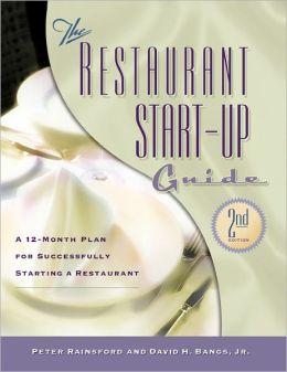 Restaurant Start-Up Guide