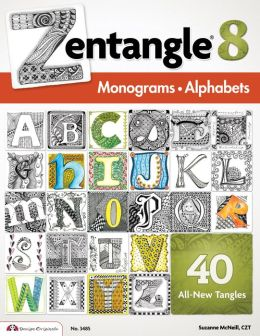 Zentangle 8: Monograms & Alphabets